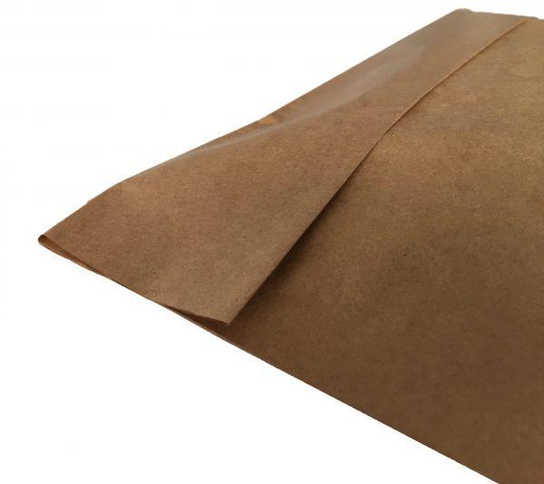 Χάρτινος σάκος αποστολών courier (με κάτω πιέτα) 35+10/40 εκ. (κιβώτιο 500 τμχ)